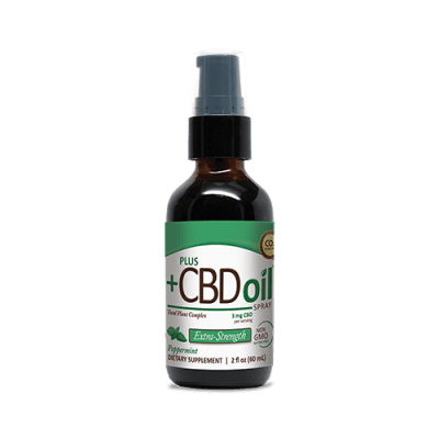 Plus CBD Spray