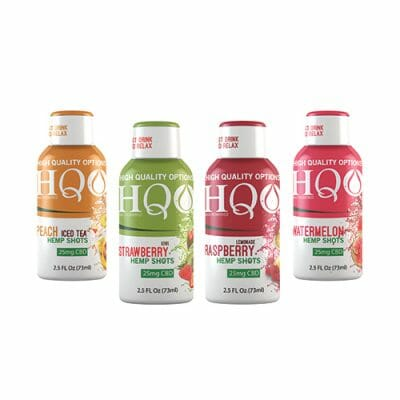 HQO CBD Hemp Shots