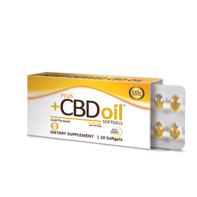 10 Count plus CBD Softgels