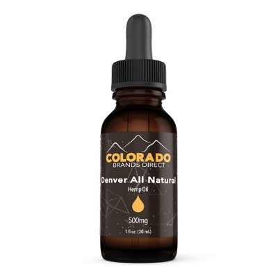 Hemp Oil Product Image