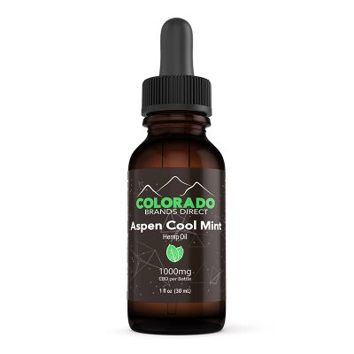 Aspen Cool Mint Tincture